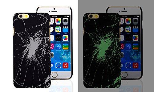 NEW Luminous Glowing in the Dark, HARD PC Case For Apple Iphone 5/5s, 6, 7 & 7 Plus (iphone 6/6s, Design3) Design3