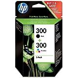 2x Cartouche d'encre pour Imprimante HP Photosmart C4780AIO - Noir+Tri-Colour