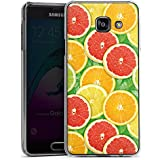 Samsung Galaxy A3 (2016) Housse Étui Protection Coque Citron Orange