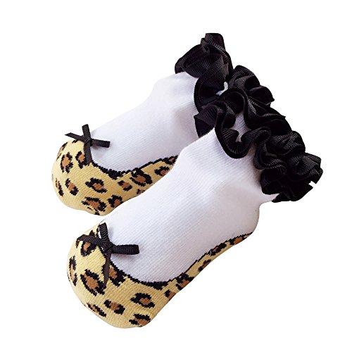 Baby Socken Mädchen Neugeborene Säugling Sock Kleinkind Fuß Wear 1 Jahr alt (0-12 Monate, bao-wen) (Boot-steigbügel)