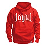 Kontra K - Loyal Hoodie Kapuzenpullover Rot Red