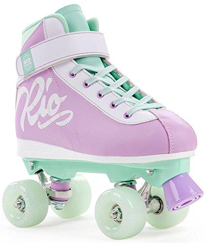 Wheels Trucks Roller Und Skate (Rio Roller Rollschuhe Milkshake (Mint Berry, 37))