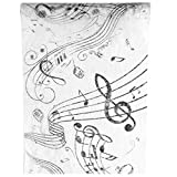 Santex Chemin de Table Musique 30cm x 5m (x1) REF/70090