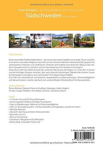 Kanu Kompass Südschweden 2016, Das Reisehandbuch zum Kanuwandern: Alle Infos bei Amazon