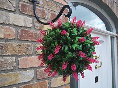 best-artificial-lavanda-24-cm-colore-rosa-con-fiori-foglie-erba-artificiale-motivo-lush