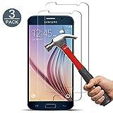 [3 Stück] GenKi Schutzfolie für Samsung Galaxy S6 9H Härte Anti-Kratzen lebenslange Garantie