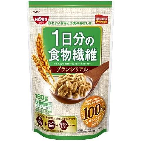 Nisshin Cisco una giornata di fibra alimentare di crusca di cereali borse 180gX6 di