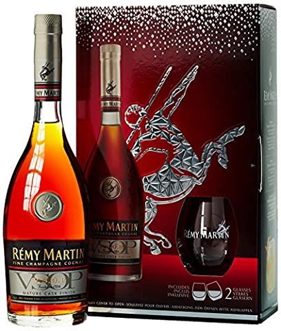 Remy Martin VSOP Mature Cask Finish mit Geschenkverpackung Plus 2