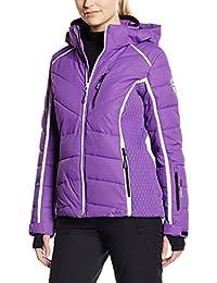 C.P.M. Damen Trainingsjacke Violett dunkelviolett 36