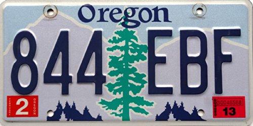 USA Nummernschild OREGON ~ US Kennzeichen License Plate ~ Blechschild