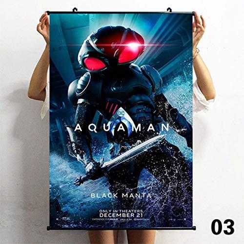 TS.13 Aquaman Affiche Murale Peinture Décor À La Maison Imperméable Art Imprimer sans Cadre