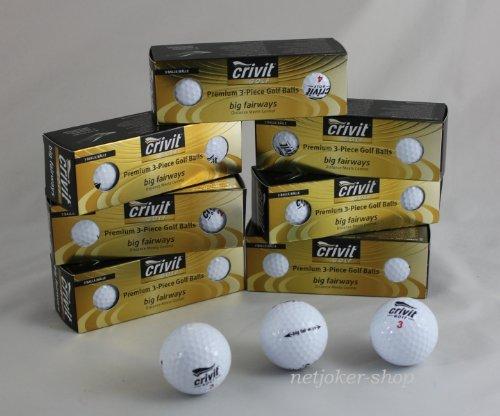 Golf Bälle ~ 24 Stück ~ Premium 3-Piece Golfbälle ~ -