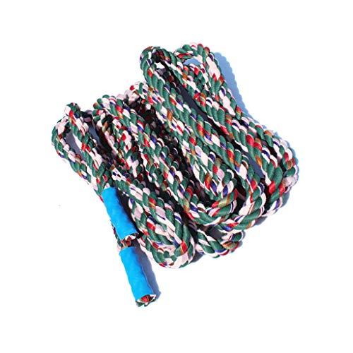 ZHWNGXO Farbige Baumwolle Seil, 3cm Plus-Crude Tauziehen Seil Robust und langlebig Wetterfest Geeignet for 24 Personen 20m (Size : 20m)