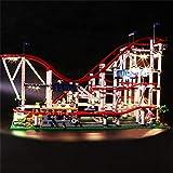 LPVIE LED-Licht-Kit Für 10261 Der Roller Coaster Unterstützte 15039 Stadt Creator DIY Beleuchtung Gesetzte Bausteine   Bricks Spielzeug (Nicht Sind Unter Anderem),Basicmodels