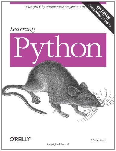 Learning Python: Powerful Object-Oriented Programming: 5th Edition by Lutz (Paperback) Paperback par Lutz