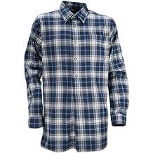LMA abrigo tejido lienzo, color negro/Camel, azul, 900300 VOSGES