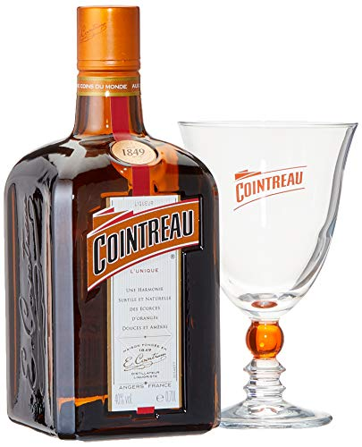 Cointreau Orangenlikör in Geschenkpackung mit Glas (1 x 0.7 l)
