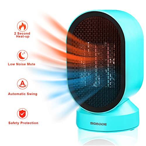 Calefactor de escritorio Sgodde de bajo consumo por 22,39€ con el #código: SGODDE035