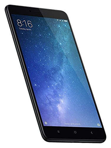 Xiaomi Mi Max 2 Smartphone 6,4' 4G Doble Sim, Con Google Play [Version Europea] negro