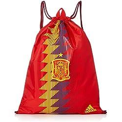 Adidas FEF Gymbag, Mochila Unisex Adultos, Rojo (Rojo/Dorfue), 24x15x45 cm (W x H x L)