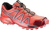 Salomon L39183400, Scarpe da Trail Running Donna, Rosso/Blu (Tomato Red/Coral Punch/Blue Jay), 41 1/3 EU