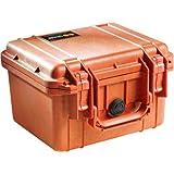 Pelican 1300 Valise avec mousse pour appareil photo (Orange)