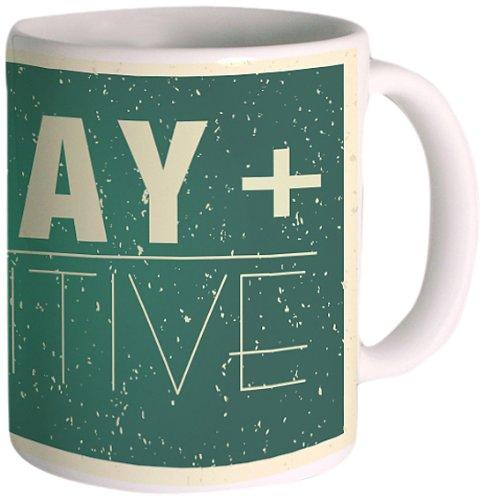 Posterboy 'Stay Positive' Creamic Mug