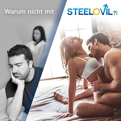 **NEU** Original STEELOVIL® – Für MÄNNER – 60 Kapseln | Neutrale Verpackung! | 100% GELD-ZURÜCK-GARANTIE - 5