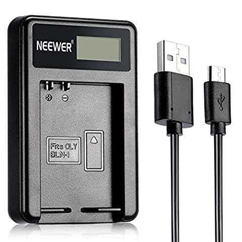 Neewer® NW-BLN1 Portable USB Battery Charger Compatibal with BLN-1 Camera