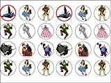 24 Wizard of Oz Edible Wafer Paper Cup Cake Toppers