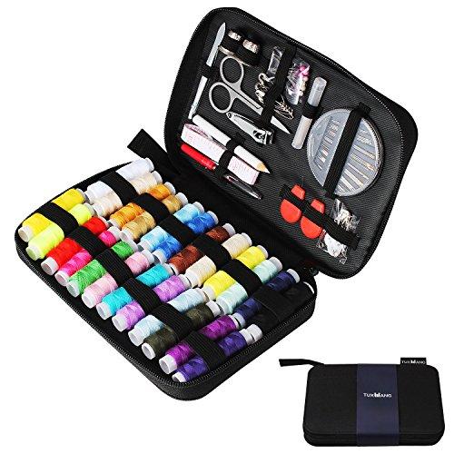 Tuxwang Kit de costura con 90 piezas Accesorios de costura premium con