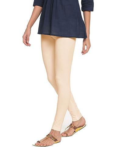 Go Colors Women's Lycra Ankle Length Legging