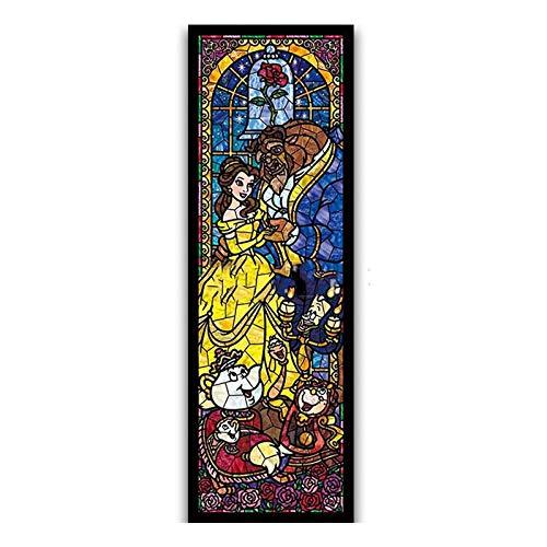CJGD DIY Cartoon Klassische Schönheit Tier Wohnzimmer Hause 5D Diamant Malerei Kreuzstich Muster Wandaufkleber Set Mosaik Stickerei Malerei Kristall Handwerk, 30 * 40 cm (Handwerk Disney-familie Halloween)