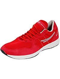 Sega Shoes Unisex Red Running Shoe (9 India/Uk)