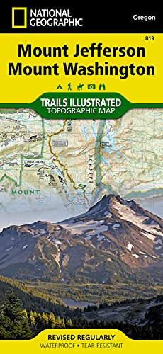 Mount Jefferson, Mount Washington (National Geographic Trails Illustrated Map, Band 819)