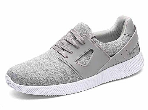 Uomini Casual Athletic Scarpe Autunno Nuove scarpe da jogging respirabili Grandi dimensioni 45-48 Gray