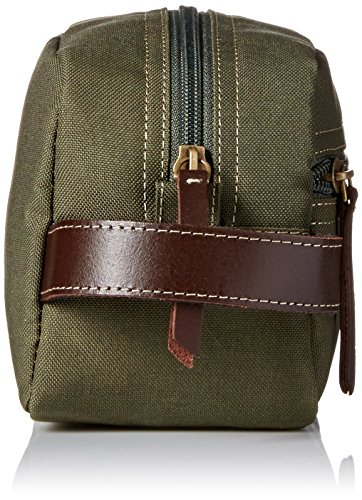Timberland Mens Canvas Travel Kit Olive