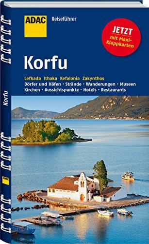 Preisvergleich Produktbild ADAC Reiseführer Korfu: Lefkada Ithaka Kefalonia Zakynthos