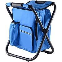 iYoung Klapphocker Portable Outdoor Slacker Stuhl f/ür BBQ Camping Angeln Reise Wandern Garten Strand 600D Oxford Tuch