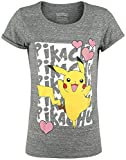 Bioworld Pokemon - Pikachu Love Women's T-Shirt M