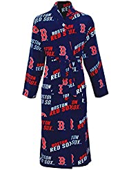 "Boston Red Sox MLB ""Wildcard"" Men's Micro Fleece Robe"