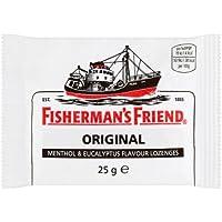 Fisherman 's Friend Original-Menthol & Eukalyptus Flavour Lutschtabletten 25g (Packung mit 24 x 25 g) preisvergleich bei billige-tabletten.eu