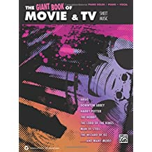 The Giant Book of Movie & TV Sheet Music: Piano Solos/Piano/Vocal