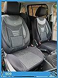 Maß Sitzbezüge VW T5 T6 Caravelle/Transporter Fahrer & Beifahrer ab BJ 2003 Farbnummer: 909