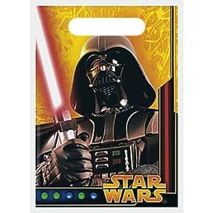 Star Wars - Party Supplies - Treat Sacks - 8 Sacks / Per Pack