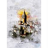 gaowei Izmir Istanbul Stadt Kunst Ölgemälde Wandbilder