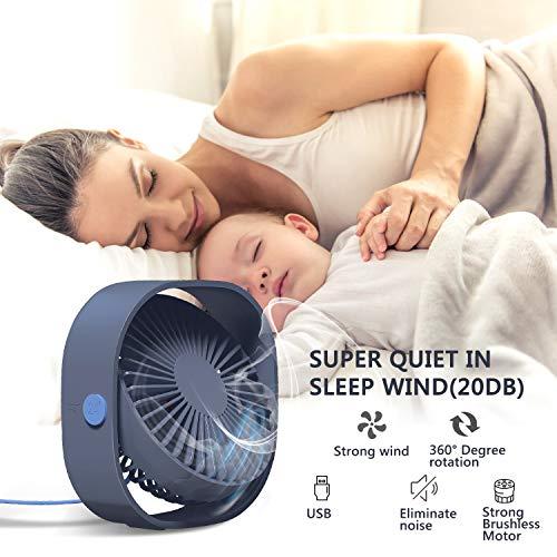 Zoom IMG-3 tedgem ventilatore usb mini silenzioso