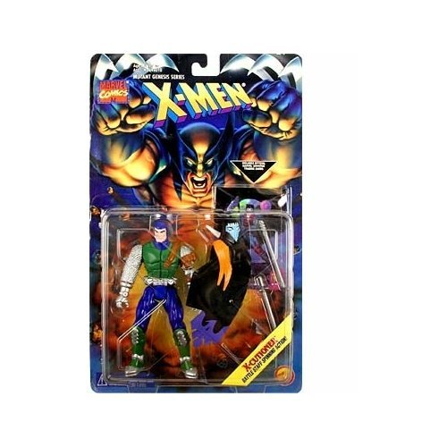 Mutant Genesis Serie X-Men - X-Cutioner with Trading Card (Xmen Trading Card Game)