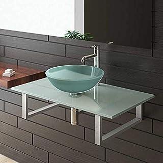 Alpenberger Glass Frosted Glass for Series/50/Furniture Cabinet Glass Wash Basin Bathroom Glass Bathroom/Sink/Bathroom/Glaswaschtisch