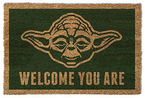 Star Wars - Yoda, I Benvenuti Siete Zerbino (60 x 40cm)